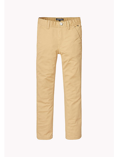 TOMMY HILFIGER Skinny Fit Chino - CURDS & WHEY - TOMMY HILFIGER Trousers & Shorts - main image