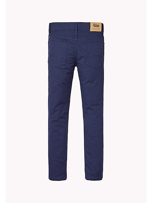TOMMY HILFIGER Slim Fit Chino - BLACK IRIS - TOMMY HILFIGER Trousers & Shorts - detail image 1
