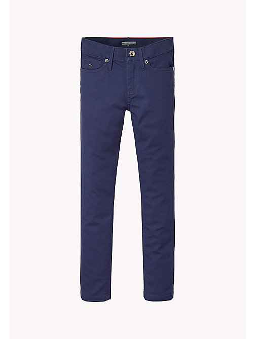 TOMMY HILFIGER Slim Fit Chino - BLACK IRIS - TOMMY HILFIGER Boys - main image