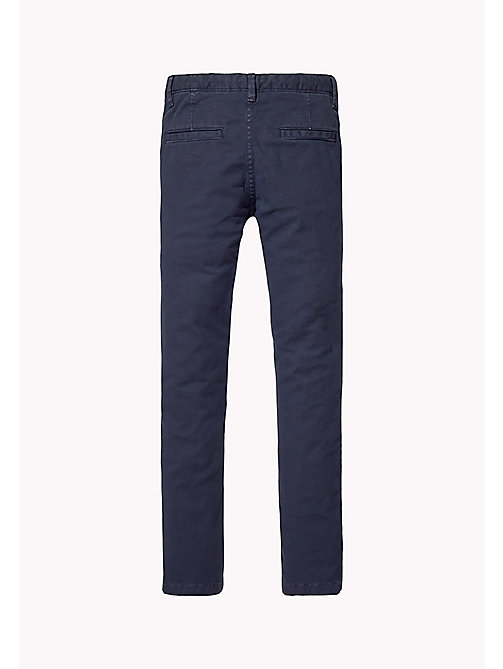 TOMMY HILFIGER Skinny Fit Chino - BLACK IRIS -  Trousers & Shorts - detail image 1