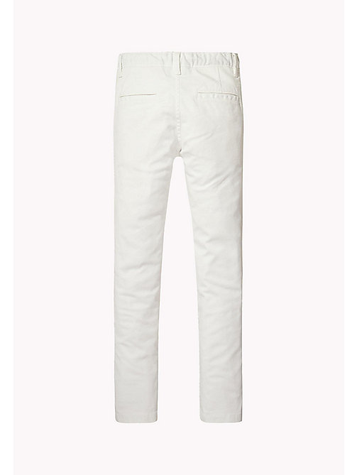 TOMMY HILFIGER Skinny Fit Chino - BRIGHT WHITE - TOMMY HILFIGER Trousers & Shorts - detail image 1