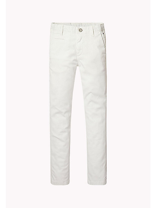 TOMMY HILFIGER Skinny Fit Chino - BRIGHT WHITE - TOMMY HILFIGER Trousers & Shorts - main image