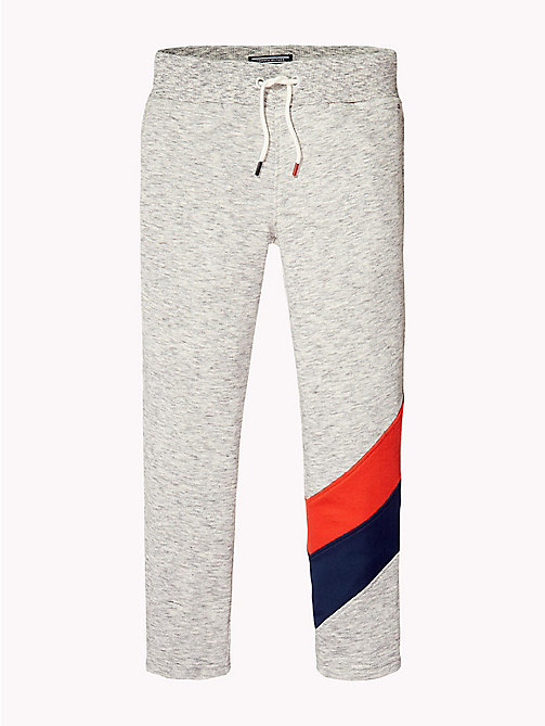 TOMMY HILFIGER Logo Sweatpant - MODERN GREY HEATHER - TOMMY HILFIGER Trousers & Shorts - detail image 1