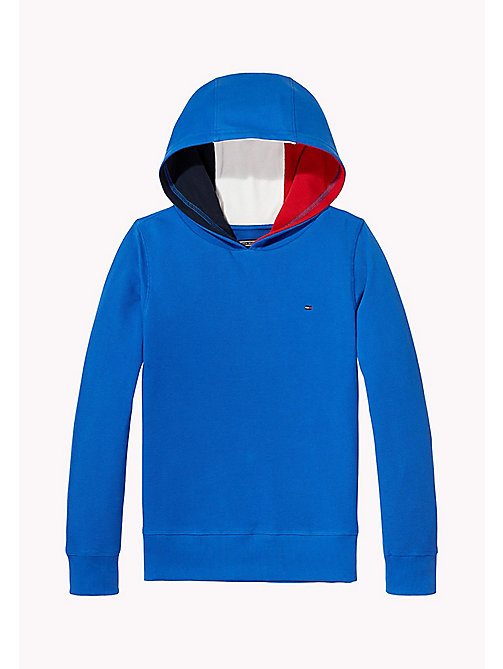 TOMMY HILFIGER Signature Stripe Hoodie - NAUTICAL BLUE - TOMMY HILFIGER Boys - main image