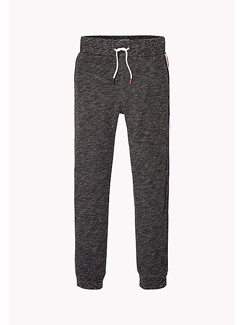 TOMMY HILFIGER Logo Sweatpants - ANTHRACITE MELANGE - TOMMY HILFIGER Trousers & Shorts - detail image 1