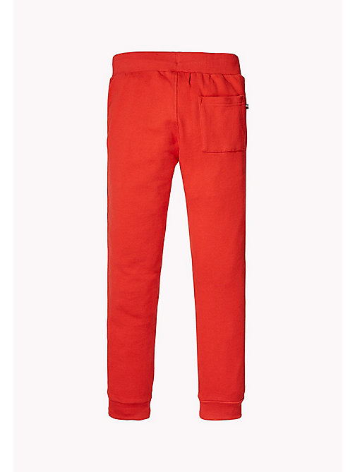 TOMMY HILFIGER Logo Sweatpants - FLAME SCARLET - TOMMY HILFIGER Trousers & Shorts - detail image 1