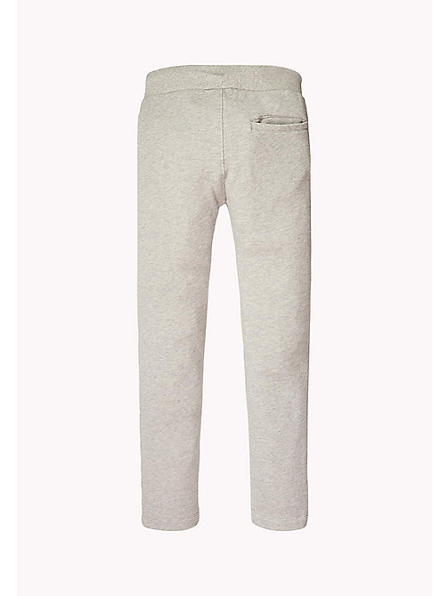TOMMY HILFIGER Logo Jogging Bottoms - LIGHT GREY HTR - TOMMY HILFIGER Trousers & Shorts - detail image 1