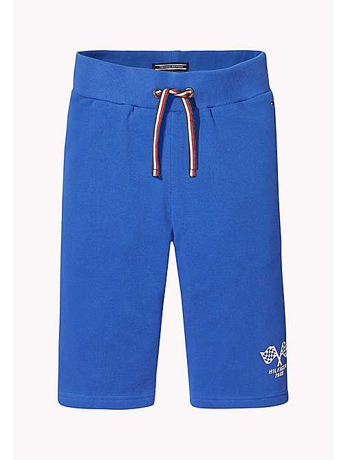 TOMMY HILFIGER Szorty w luźnym stylu z nadrukiem - NAUTICAL BLUE - TOMMY HILFIGER Trousers & Shorts - detail image 1