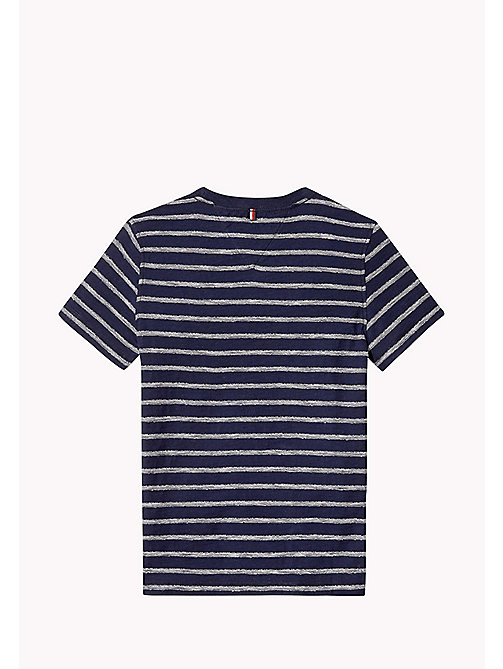 TOMMY HILFIGER Gestreept T-shirt met ronde hals - INDIGO BLUE -  T-shirts & Polo's - detail image 1