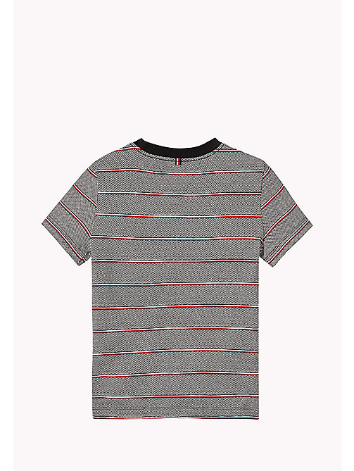 TOMMY HILFIGER Signature Stripe T-Shirt - TOMMY BLACK - TOMMY HILFIGER Boys - detail image 1