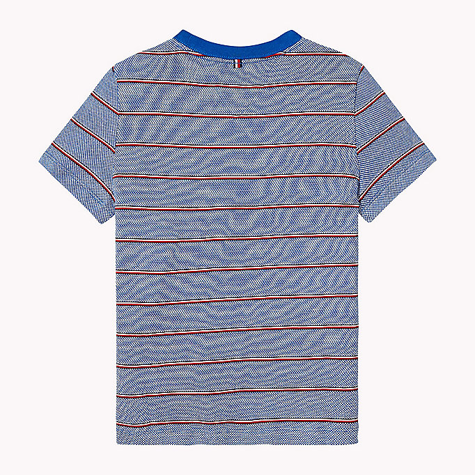 TOMMY HILFIGER Signature Stripe T-Shirt - TOMMY BLACK - TOMMY HILFIGER Kinder - main image 1