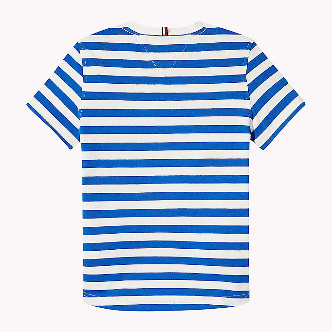 TOMMY HILFIGER Stripe Regular Fit T-Shirt - BLACK IRIS - TOMMY HILFIGER Kids - detail image 1