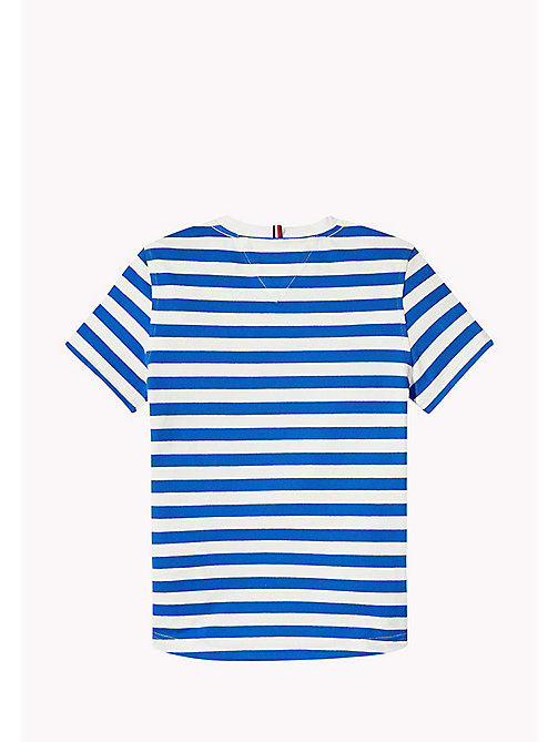 TOMMY HILFIGER Stripe Regular Fit T-Shirt - NAUTICAL BLUE -  Boys - detail image 1