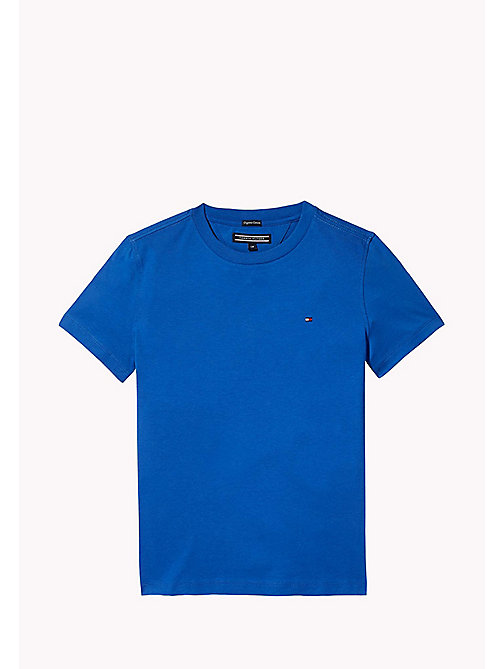 TOMMY HILFIGER Klassiek T-shirt met ronde hals - NAUTICAL BLUE - TOMMY HILFIGER T-shirts & Polo's - main image