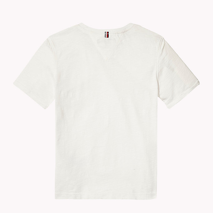 TOMMY HILFIGER Patch Pocket T-Shirt - CUSTARD - TOMMY HILFIGER Kids - detail image 1