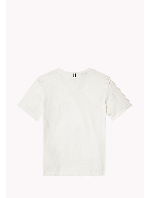 TOMMY HILFIGER Patch Pocket T-Shirt - BRIGHT WHITE - TOMMY HILFIGER Boys - detail image 1