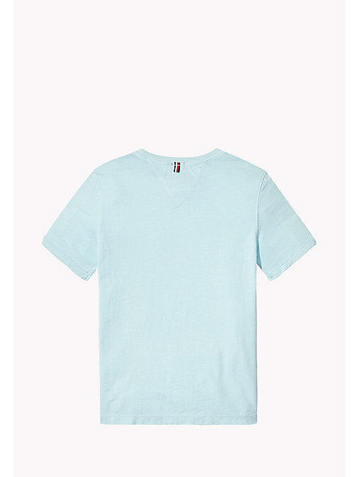 TOMMY HILFIGER Patch Pocket T-Shirt - STRATOSPHERE - TOMMY HILFIGER Boys - detail image 1