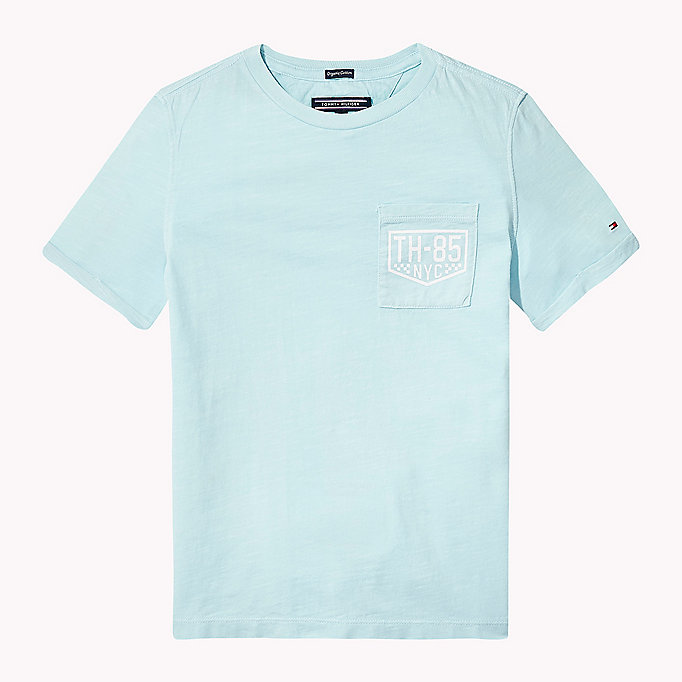 TOMMY HILFIGER Patch Pocket T-Shirt - BRIGHT WHITE - TOMMY HILFIGER Kids - main image