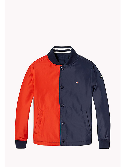 TOMMY HILFIGER Reversible Cracker Jacket - BLACK IRIS - TOMMY HILFIGER Boys - detail image 1