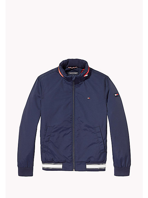 Nylon Bomber Jacket - BLACK IRIS - TOMMY HILFIGER Boys - main image