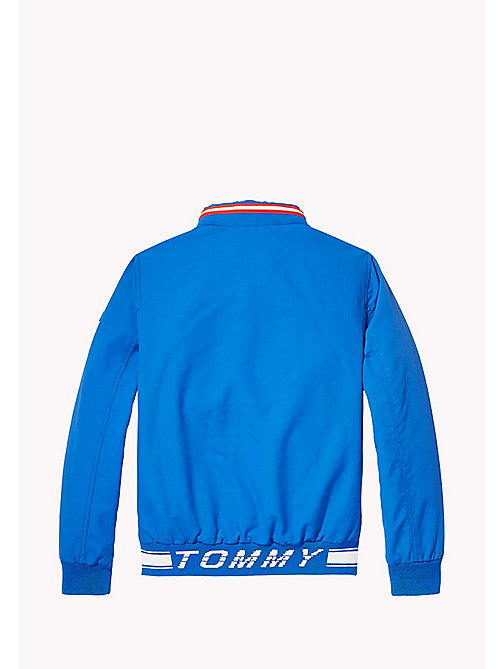 TOMMY HILFIGER Nylon Bomber Jacket - NAUTICAL BLUE - TOMMY HILFIGER Coats & Jackets - detail image 1