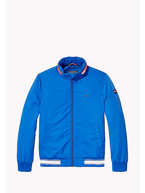 TOMMY HILFIGER Nylon Bomber Jacket - NAUTICAL BLUE - TOMMY HILFIGER Coats & Jackets - main image