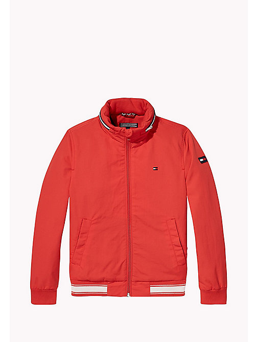 TOMMY HILFIGER Bomber in nylon - FLAME SCARLET - TOMMY HILFIGER Cappotti & Giacche - immagine principale