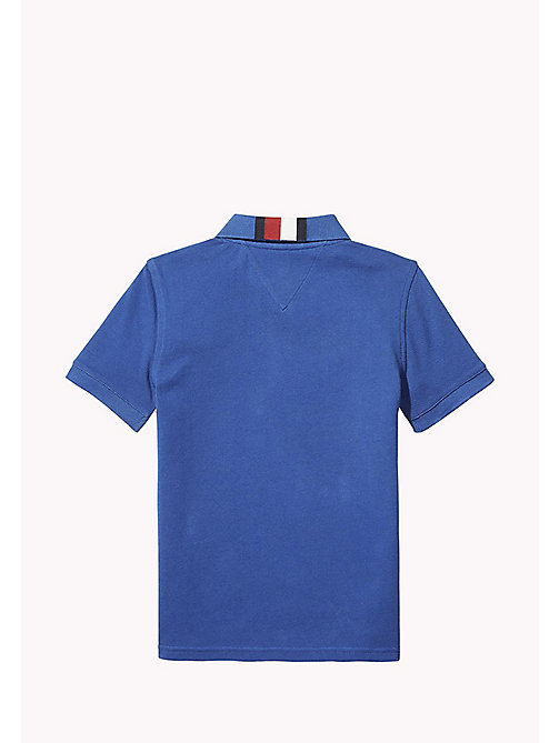 TOMMY HILFIGER Signature Stripe Polo Shirt - NAUTICAL BLUE -  T-shirts & Polo's - detail image 1