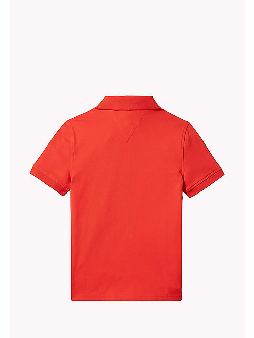 TOMMY HILFIGER Polo slim fit - FLAME SCARLET - TOMMY HILFIGER T-shirts & Polo - dettaglio immagine 1