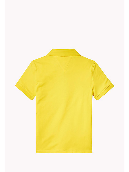 TOMMY HILFIGER Slim Fit Polo - EMPIRE YELLOW - TOMMY HILFIGER T-shirts & Polos - detail image 1