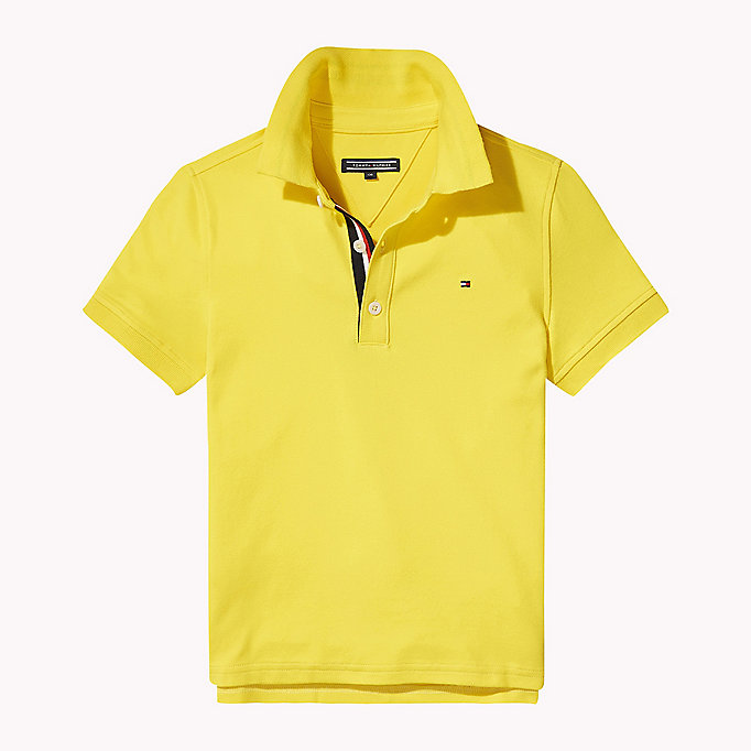 TOMMY HILFIGER Polo slim fit - FLAME SCARLET - TOMMY HILFIGER Bambini - immagine principale