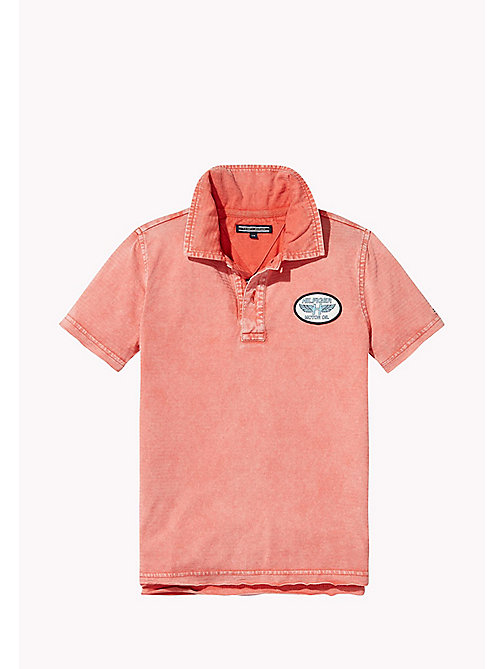 TOMMY HILFIGER Polo con logo vintage - CAYENNE - TOMMY HILFIGER Bambini - dettaglio immagine 1