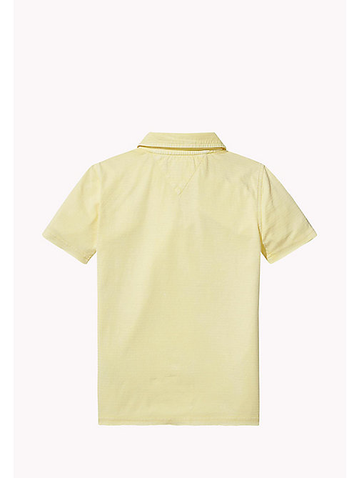 TOMMY HILFIGER Vintage poloshirt met logo - CUSTARD - TOMMY HILFIGER T-shirts & Polo's - detail image 1