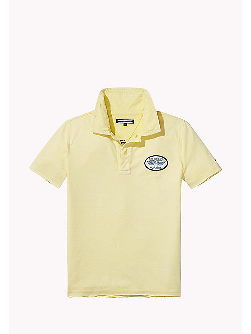 TOMMY HILFIGER Polo con logo vintage - CUSTARD - TOMMY HILFIGER Bambini - immagine principale