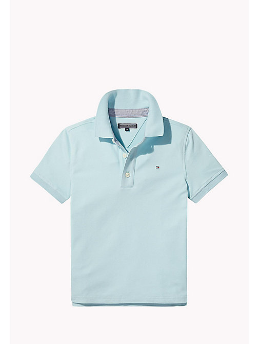 TOMMY HILFIGER Regular Fit Polo - STRATOSPHERE -  Boys - main image