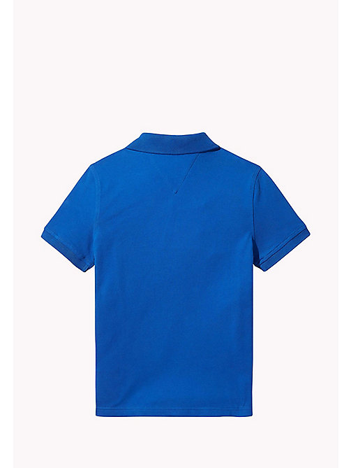 TOMMY HILFIGER Regular Fit Polo - NAUTICAL BLUE - TOMMY HILFIGER T-shirts & Polos - detail image 1