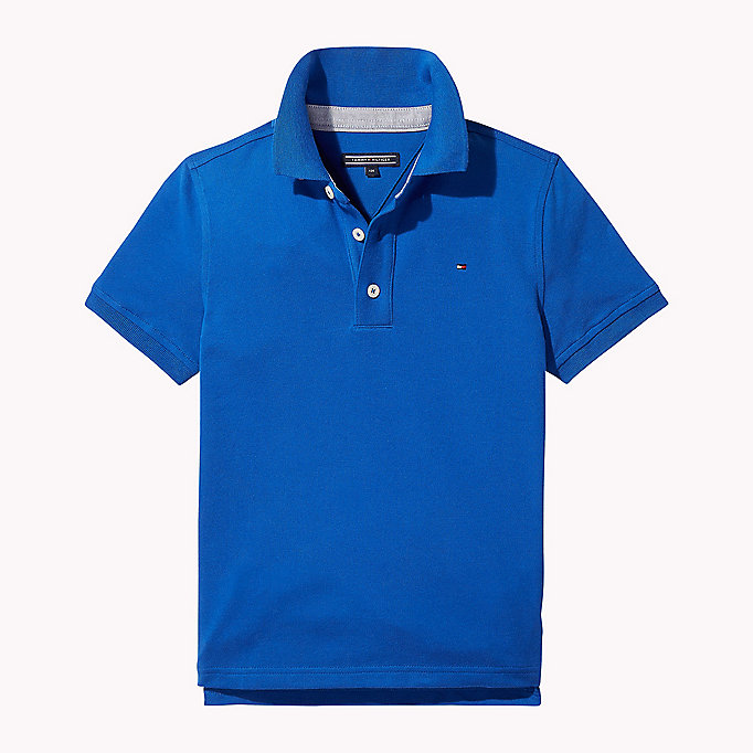 TOMMY HILFIGER Regular Fit Polo - STRATOSPHERE - TOMMY HILFIGER Kids - main image