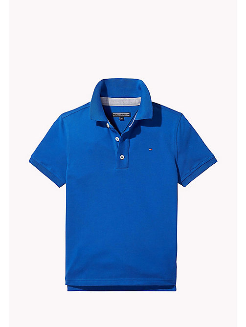 TOMMY HILFIGER Regular Fit Polo - NAUTICAL BLUE - TOMMY HILFIGER T-shirts & Poloshirts - main image