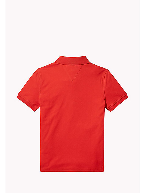TOMMY HILFIGER Regular Fit Polo - FLAME SCARLET - TOMMY HILFIGER T-shirts & Poloshirts - main image 1