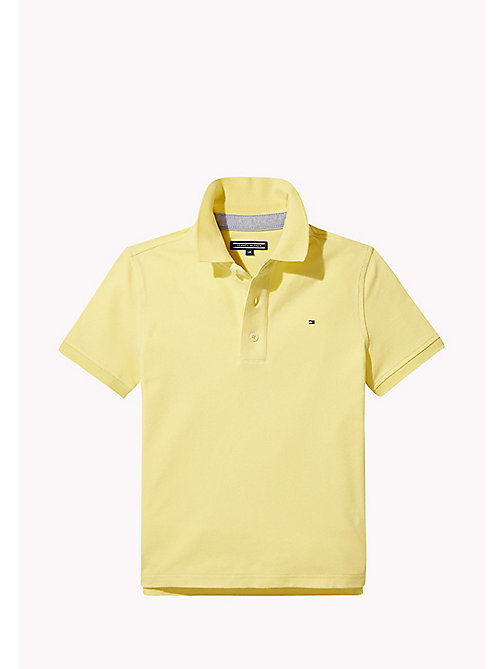 TOMMY HILFIGER Regular Fit Polo - CUSTARD - TOMMY HILFIGER Boys - main image