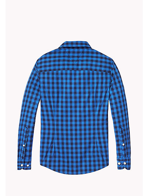 TOMMY HILFIGER Gingham Shirt - NAUTICAL BLUE - TOMMY HILFIGER Shirts - detail image 1