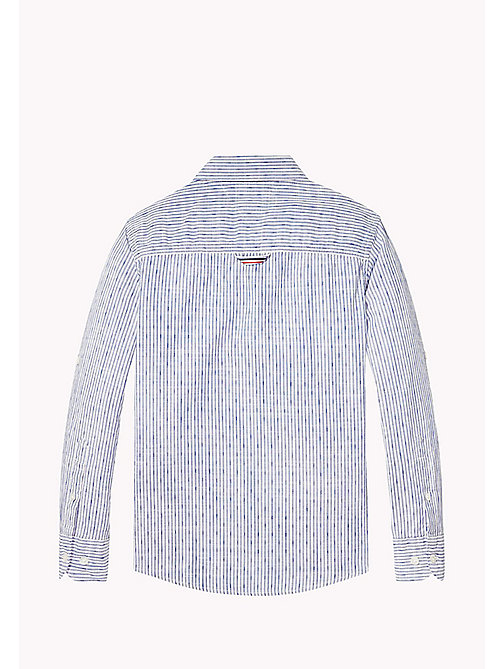 TOMMY HILFIGER Signature Tape Detail Shirt - BRIGHT WHITE - TOMMY HILFIGER Boys - detail image 1