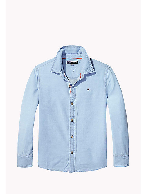TOMMY HILFIGER Acid Wash Shirt - REGATTA - TOMMY HILFIGER Shirts - main image