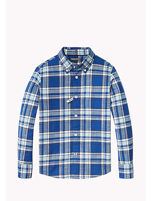 TOMMY HILFIGER Check Shirt - STRATOSPHERE - TOMMY HILFIGER Boys - main image