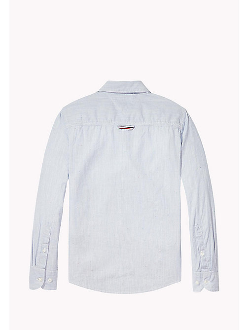 TOMMY HILFIGER Stripe Regular Fit Shirt - STRATOSPHERE - TOMMY HILFIGER Shirts - detail image 1