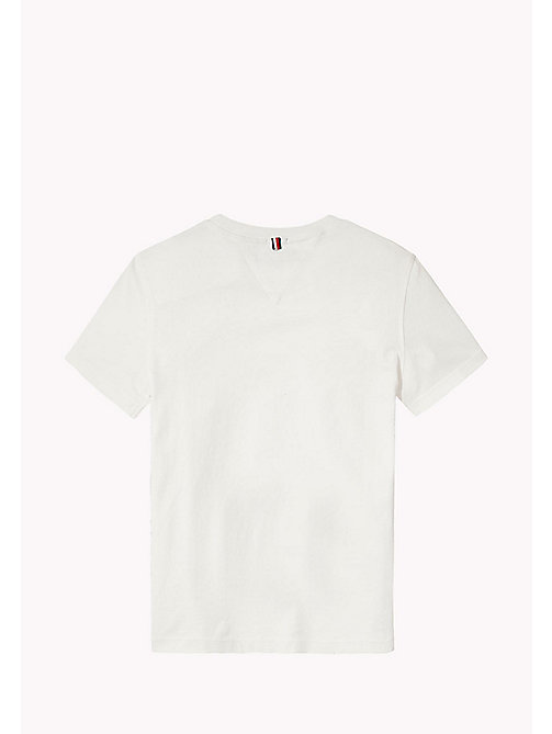 Logo T-Shirt - BRIGHT WHITE - TOMMY HILFIGER Boys - detail image 1