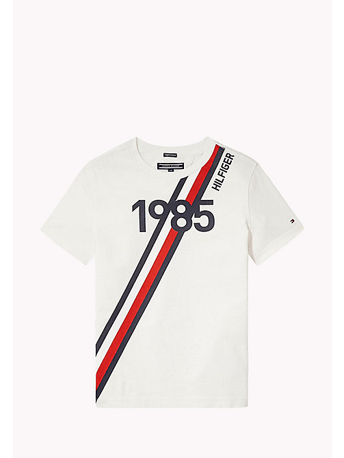 Logo T-Shirt - BRIGHT WHITE - TOMMY HILFIGER Boys - main image
