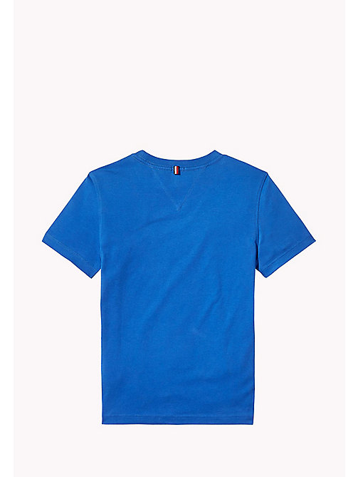TOMMY HILFIGER T-shirt met logo - NAUTICAL BLUE - TOMMY HILFIGER T-shirts & Polo's - detail image 1