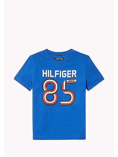 TOMMY HILFIGER T-shirt met logo - NAUTICAL BLUE - TOMMY HILFIGER T-shirts & Polo's - main image