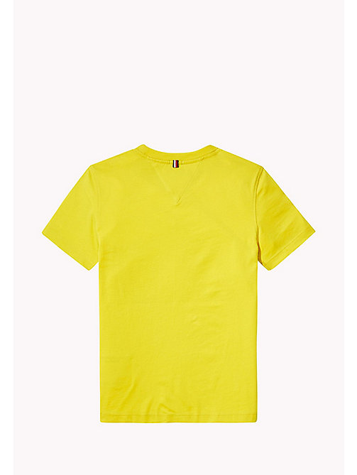 TOMMY HILFIGER T-Shirt mit Logo - EMPIRE YELLOW - TOMMY HILFIGER Boys - main image 1